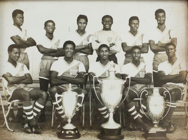 Africans and their colonisers became equals once they stepped onto the football pitch, and it even gave the former the chance to show their superiority over their oppressors. Here, Ghana's football team of the 1960s pose with the international trophies they had won. The Black Stars, as they are still known, were handpicked by Ghana's leader Kwame Nkrumah. (Image: Yenkassa, Flickr)