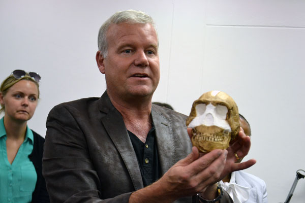 Homo naledi fossils has been relocated to the Phillip V. Tobias Fossil Primate and Hominid Laboratory where further tests will be done.