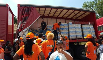Operation Hydrate has distributed more than 6 million litres of water in drought stricken areas, to date.